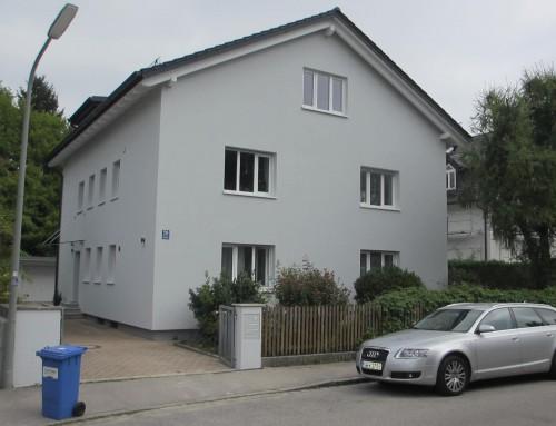 Aufstockung und energetische Sanierung eines Mehrfamilienhauses