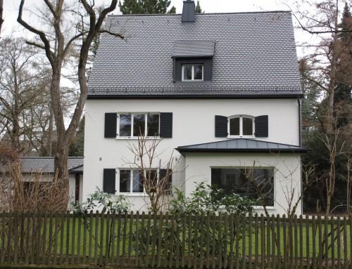 Umbau und energetische Sanierung eines Wohnhauses