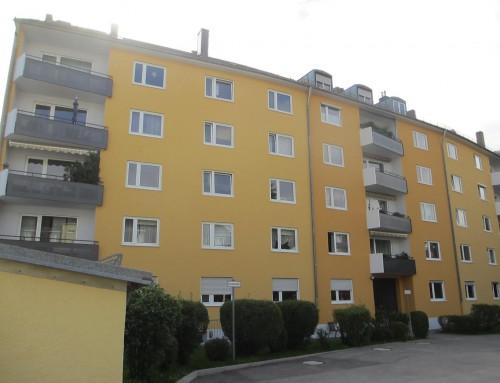 Sanierung der Balkone und Fassaden von bei 2 Mehrfamilienhäusern