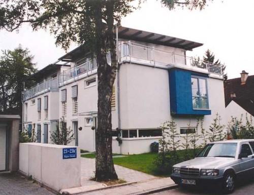 Neubau eines Mehrfamilienhauses (8 WE) mit Tiefgarage