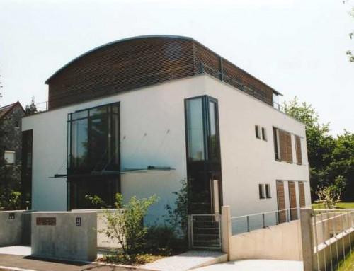 Neubau eines Mehrfamilienhauses (5 WE) mit Tiefgarage