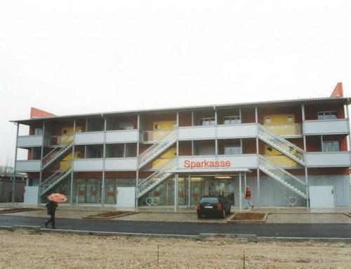 Neubau eines Wohn- und Geschäftshauses (8 WE und 1 GE) mit Tiefgarage