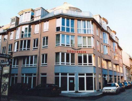 Neubau eines Wohn- und Geschäftshauses (33 WE und 3 GE) mit Tiefgarage