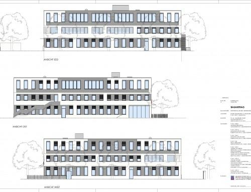 Aufstockung und Umbau eines Büro- und Logistikgebäudes