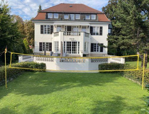 2022 – Anbau einer Tiefgarage an ein denkmalgeschützte Villa