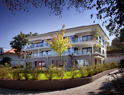 Neubau eines Mehrfamilienhauses (06 WE) mit Tiefgarage