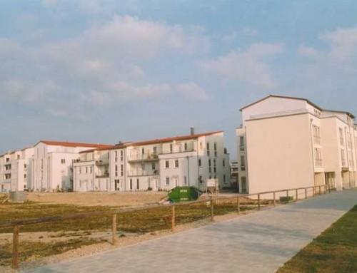 Neubau einer Wohnanlage (76 WE) mit Tiefgarage