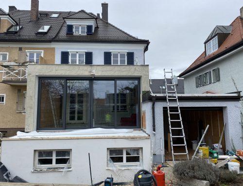 Umbau und Erweiterung einer Doppelhaushälfte