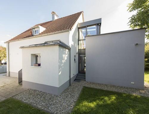 Umbau, Sanierung und Erweiterung eines Wohnhauses